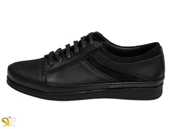 کفش مردانه مدل کارلوس رنگ مشکی سی سی