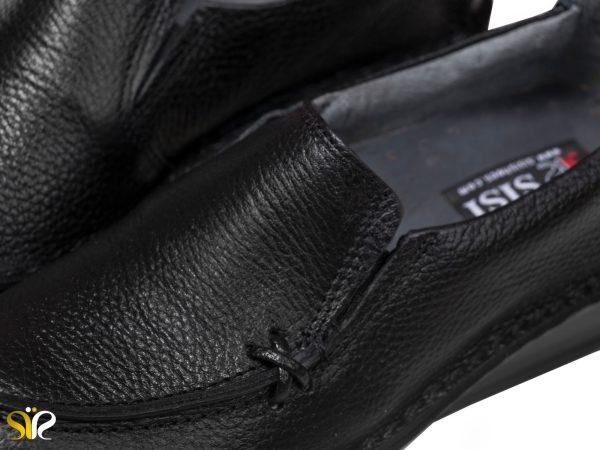 کفش چرم زنانه طبی مدل مرسده رنگ مشکی