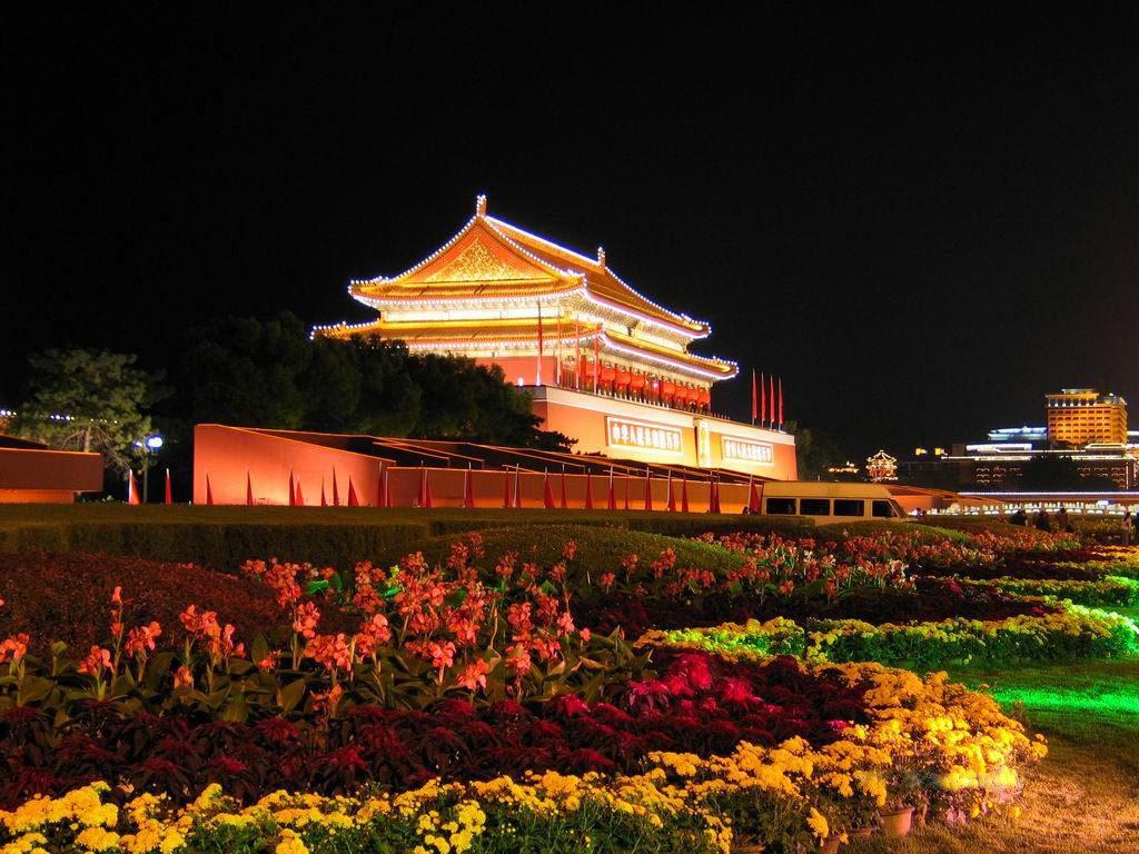 معابد زیبا در شهر گوانجو چین