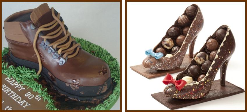 کیک و کفش