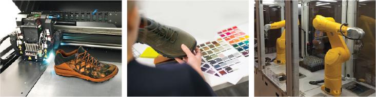 تکنولوژی در خدمت تولید کفش (۱)