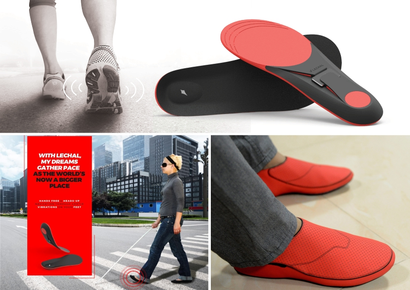 کفش لمسی لکال Lechal