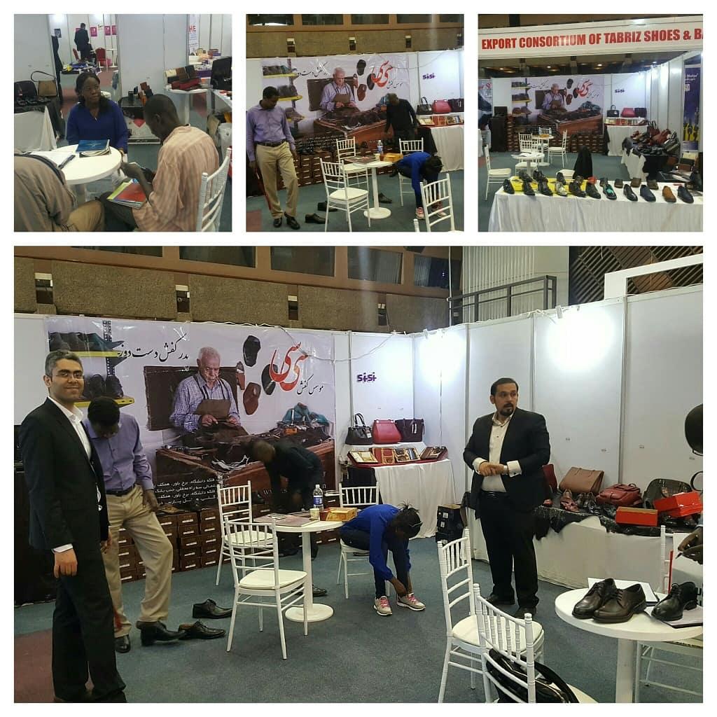 حضور فعال صنایع چرم سی سی در نمایشگاه های تخصصی چرم و کفش