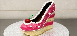 کیک هایی به مدل کفش