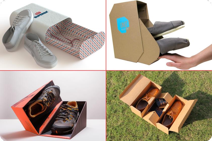خلاقیت در جعبه های کفش