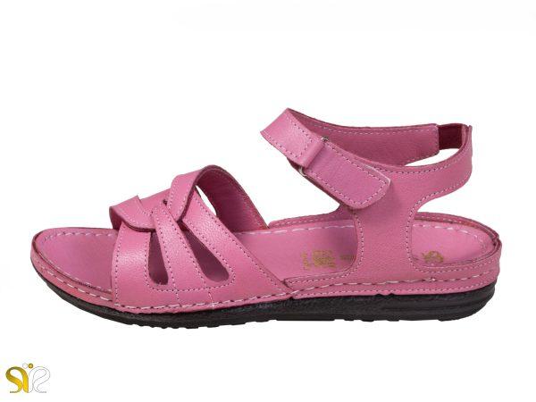 صندل زنانه مدل لورل رنگ گلبهی - کفش سی سی