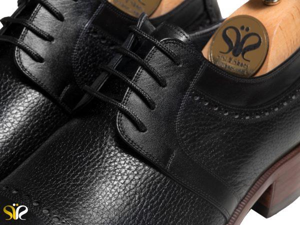 چرم مات شلانک کفش مجلسی مردانه مدل بیروتی