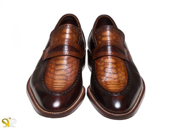 کفش مدل پلاتینیوم سی سی با چرم ایتالیایی - کفش تبریز