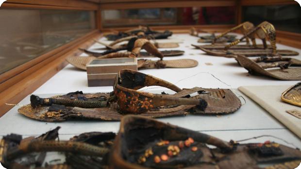 کفش های مصر باستان