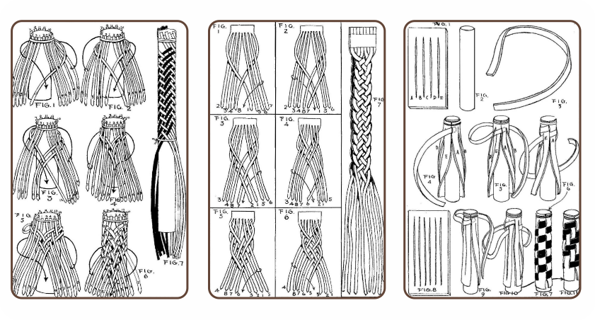 Leather-Braiding-بافت-چرم