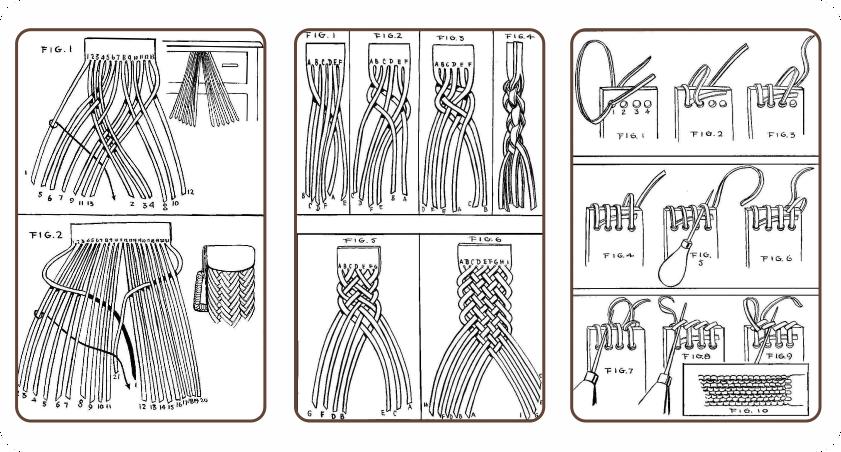 Leather-Braiding-بافت-چرم