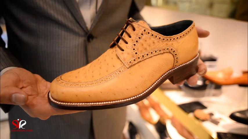 انواع چرم مورد استفاده برای کفش چرمی (ویدیو)