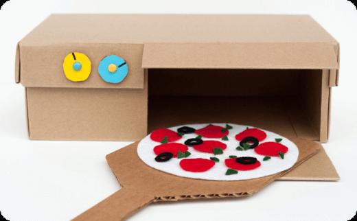 ایده های خلاقانه کودکان از جعبه های کفش (Children's creative ideas)