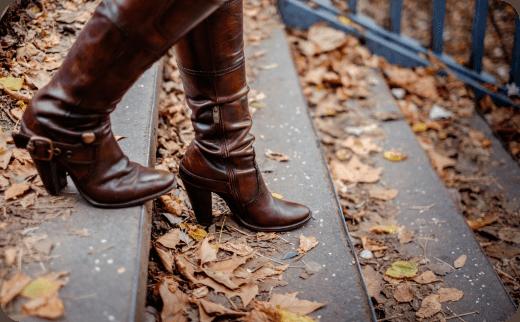 مدل چکمه های زنانه (women high boots) در سال ۲۰۱۷