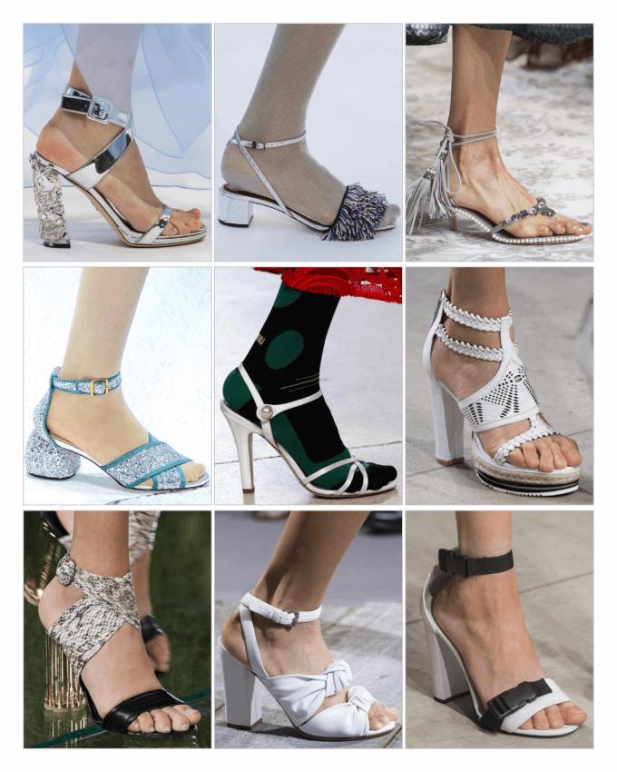 کفش پاشنه بلند تابستانی 2018