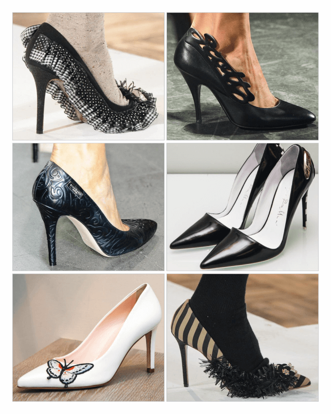 کفش های زنانه پاشنه بلند