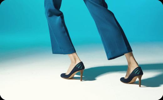 مدل کفش های زنانه پاشنه بلند (جلو بسته) در سال ۲۰۱۷