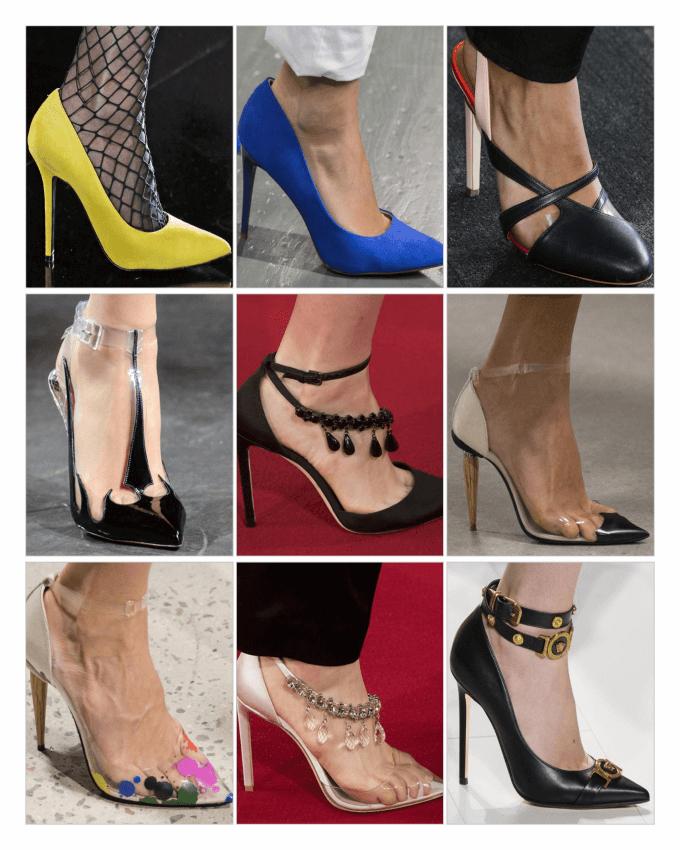 کفش های زنانه پاشنه بلند 2018