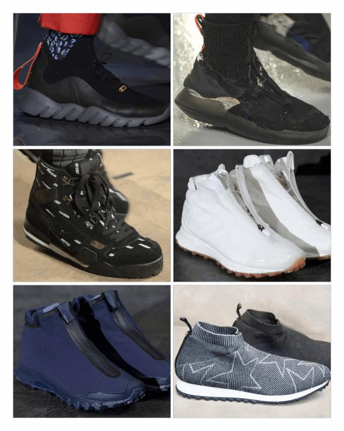 کفش های ورزشی مردانه 2017