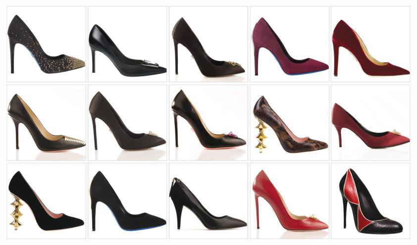 مدل کفش های پاشنه بلند زنانه