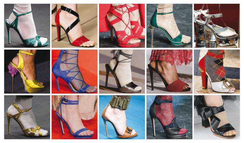 مدل کفش های پاشنه بلند زنانه 2016