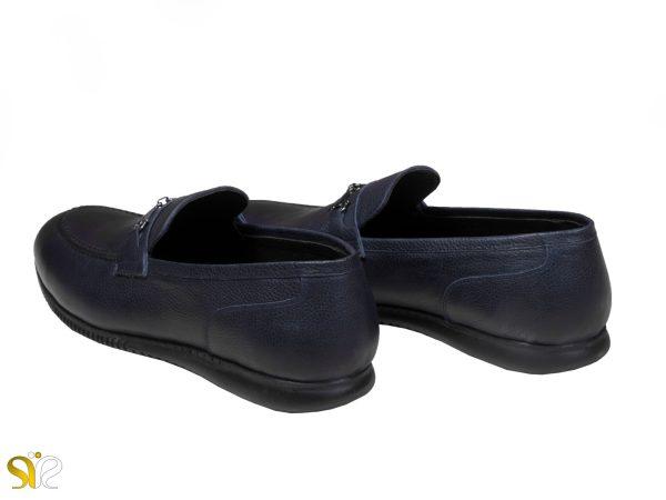 کفش سبک کالج مردانه مدل گابریل رنگ سرمه ای - کفش تبریز