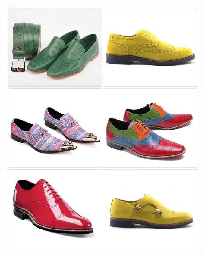 کفش های مردانه رنگی