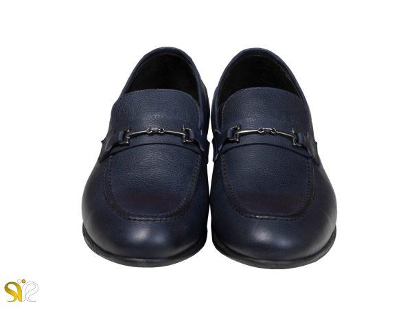 کفش کالج مدل گابریل مردانه رنگ سرمه ای - کفش سی سی تبریز