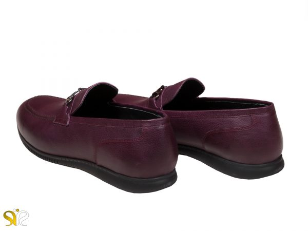 کفش کالج مردانه رنگ شرابی مدل گابریل