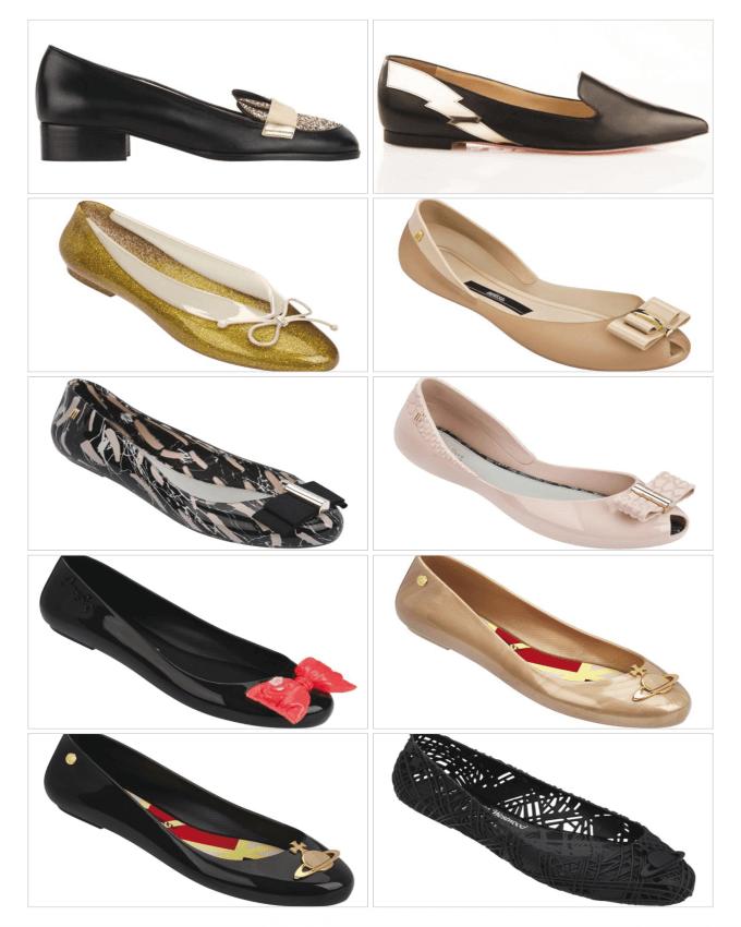 کفش های تخت زنانه در سال 2016