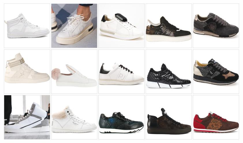 کفش های شهری و ورزشی ۲۰۱۶