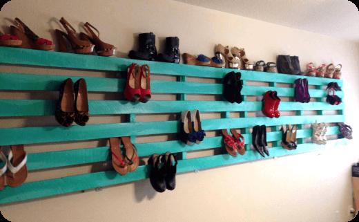 ایده های خلاقانه برای انواع جا کفشی و چینش کفش ها
