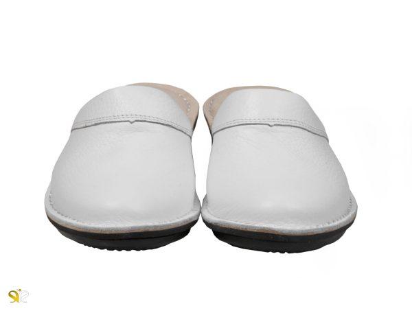 دمپایی زنانه مناسب بیمارستان و مراکز درمانی مدل پانیسا - رنگ سفید