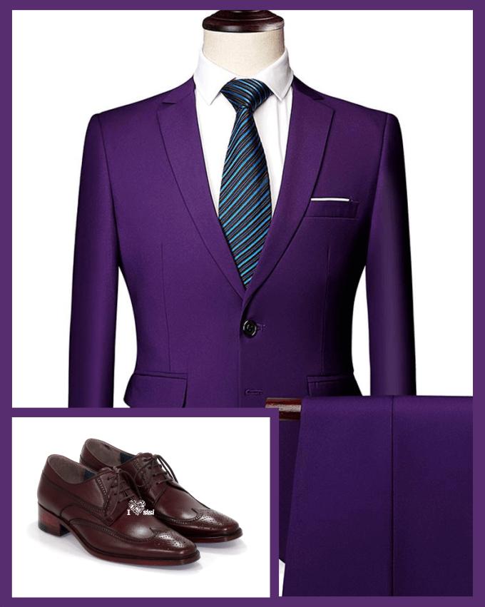 انتخاب کفش با ست کت و شلوار