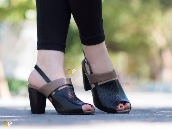 عکس مدل کفش زنانه پاشنه دار مدل ۲۰۱۹ سی سی پینتا - پاشنه پهن ۷ سانتی