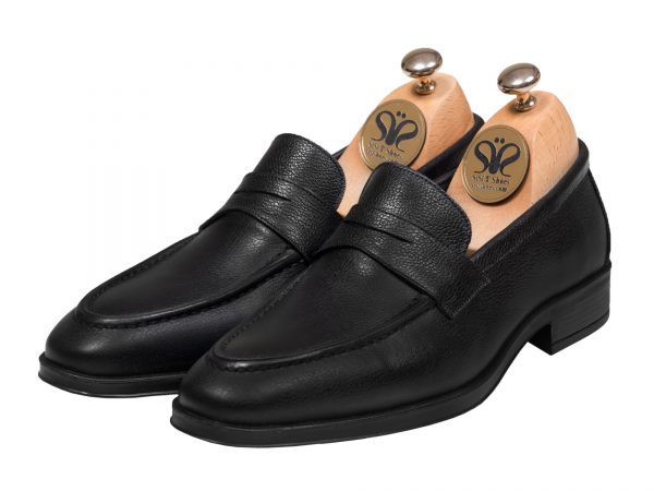 عکس مدل کفش مردانه بوفالو رنگ مشکی - کفش تبریز