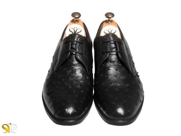 مدل پاپلی کفش تمام چرم دست دوز تبریز - کفش