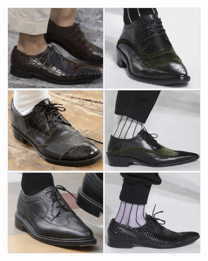 مدل کفش های مردانه 2018