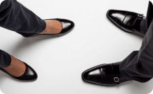 پیشنهاد ست کفش زنانه و مردانه صنایع چرم سی سی