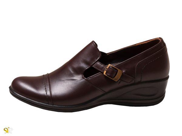 کفش زنانه مدل ادین رنگ قهوه ای