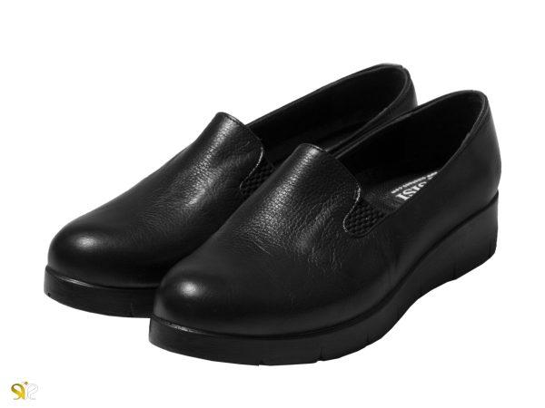 کفش طبی زنانه مدل آندا رنگ مشکی - کفش تبریز