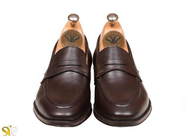 کفش مردانه رسمی مدل بوفالو سی سی - رنگ قهوه ای