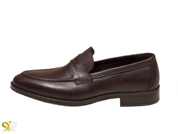 کفش مردانه مل بوفالو سی سی - رنگ قهوه ای - کفش رسمی مردانه