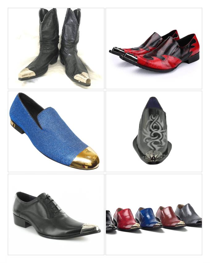 کفش هایی با دماغک های فلزی