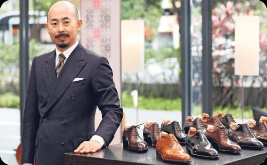 یوهی فوکودا (Yohei Fukuda) استاد، کفش های تمام چرم دست دوز ژاپنی