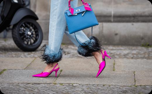 ست انواع کیف و کفش های زنانه (نیویورک، پاریس، میلان و لندن) 2019 (2)