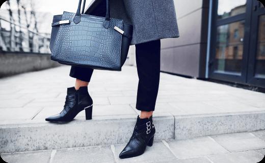 ست انواع کیف و کفش های زنانه (نیویورک، پاریس، میلان و لندن) ۲۰۱۹ (۱)