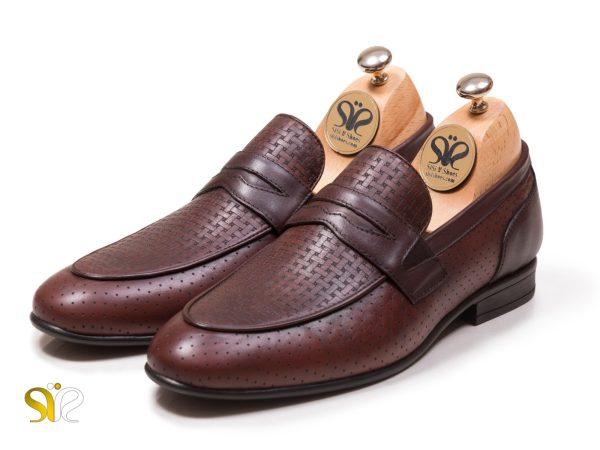 عکس مدل کفش مجلسی مردانه آرمان بی بند - کفش مردانه