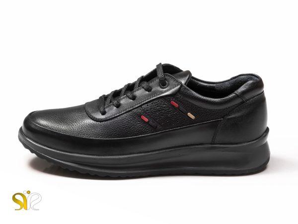 مدل کفش اسنیکرز مردانه کراس رنگ مشکی - کفش اسنیکرز