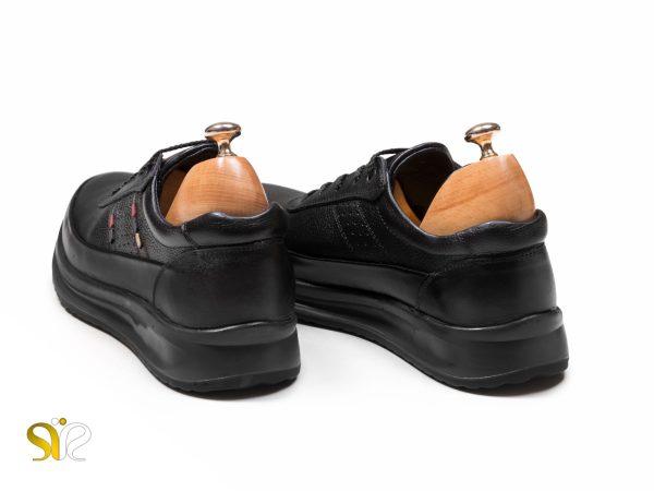 کفش اسپرت پسرانه مدل کراس مشکی - اسنیکرز سی سی